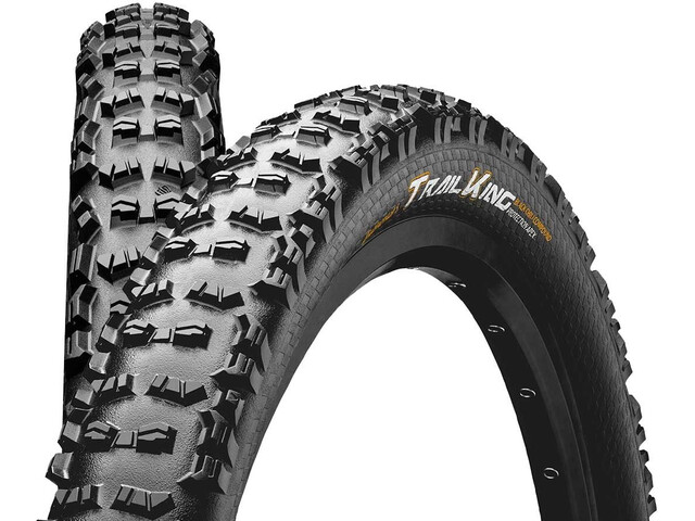 """Continental Trail King 2.2 Vouwband 29"""" Tubeless Ready E-25 Apex, black"""